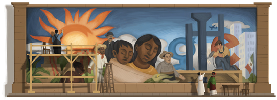 Diego Rivera's Birthday ·125