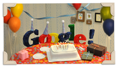 Google's 13th Birthday 13