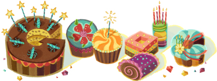Happy Birthday to You from Google 2012