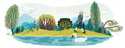 Jean-Jacques Rousseau's Birthday -·300(、)